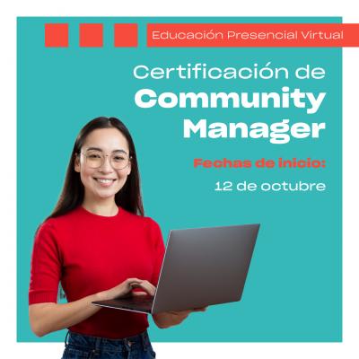 Certificación de Community Manager