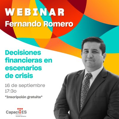 Decisiones financieras en escenarios de crisis